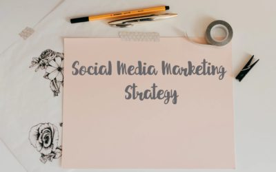 Creating a Social Media Marketing Strategy (for a team or one person marketing department!)